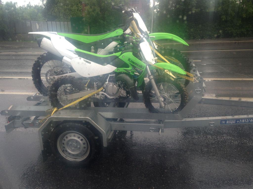 Прицеп для перевозки мотоциклов MC29