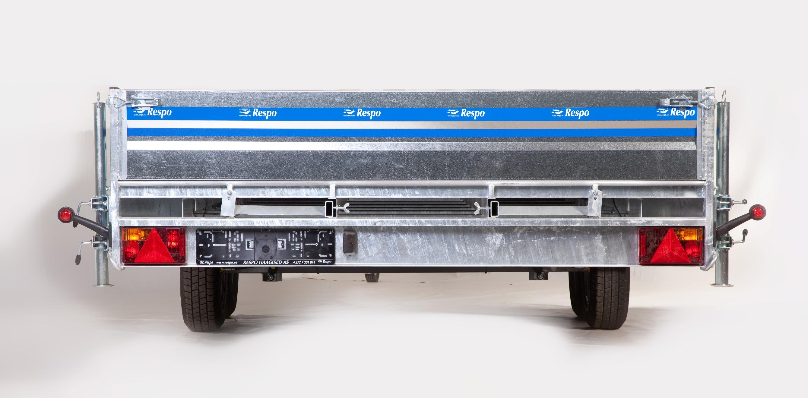 Легковой прицеп платформа Респо P55L2 фото 2