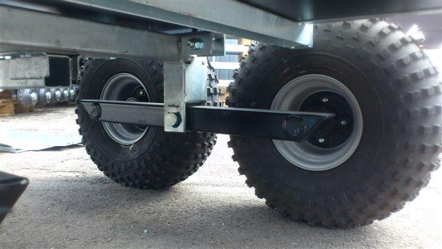 Легкий и прочный кузов прицепа